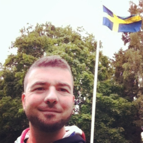 Selfie with Swedish Flag