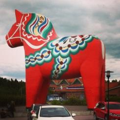 Swedish Horse, symbol of Sweden
