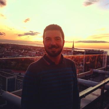 Gios over Tallinn's sunset