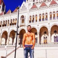 Gios' shameless selfie - Budapest