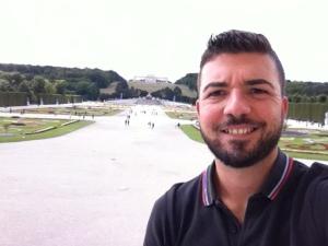 Gios's selfie - Schonbrunn