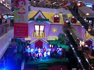 Xmas stage in Malioboro Mall - Yogyakarta