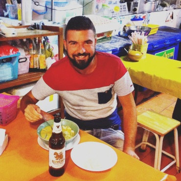 Street food in Bangkok for Gios